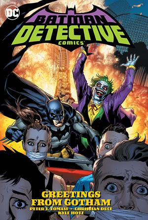 BATMAN DETECTIVE COMICS TP 03 GREETINGS FROM GOTHAM