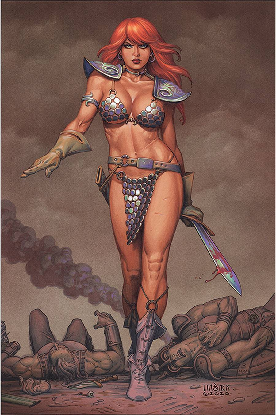 RED SONJA LINSNER LTD VIRGIN CVR