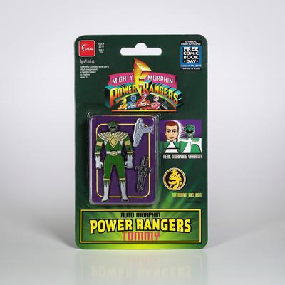 FCBD 2021 POWER RANGERS AUTOMORPHIN GREEN RANGER PX PIN
