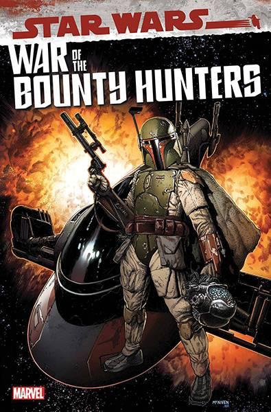 DF STAR WARS WAR OF BOUNTY HUNTERS #1 SOULE SGN