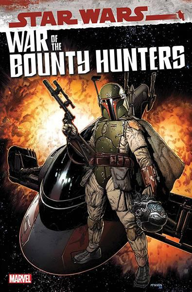 DF STAR WARS WAR OF BOUNTY HUNTERS #1 CGC GRADED