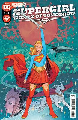 DF SUPERGIRL WOMAN OF TOMORROW #1 KING SGN