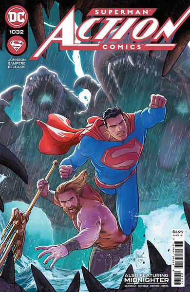 DF ACTION COMICS #1032 KENNEDY JOHNSON SGN
