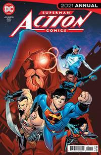 DF ACTION COMICS 2021 ANNUAL #1 KENNEDY JOHNSON SGN