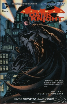BATMAN THE DARK KNIGHT HC 02 CYCLE OF VIOLENCE