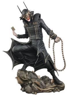 DC GALLERY BATMAN COMIC WHO LAUGHS PVC STATUE