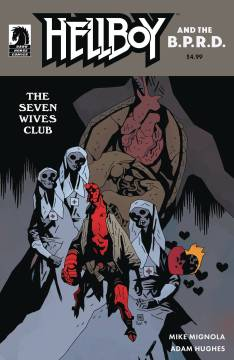 HELLBOY AND BPRD THE SEVEN WIVES CLUB