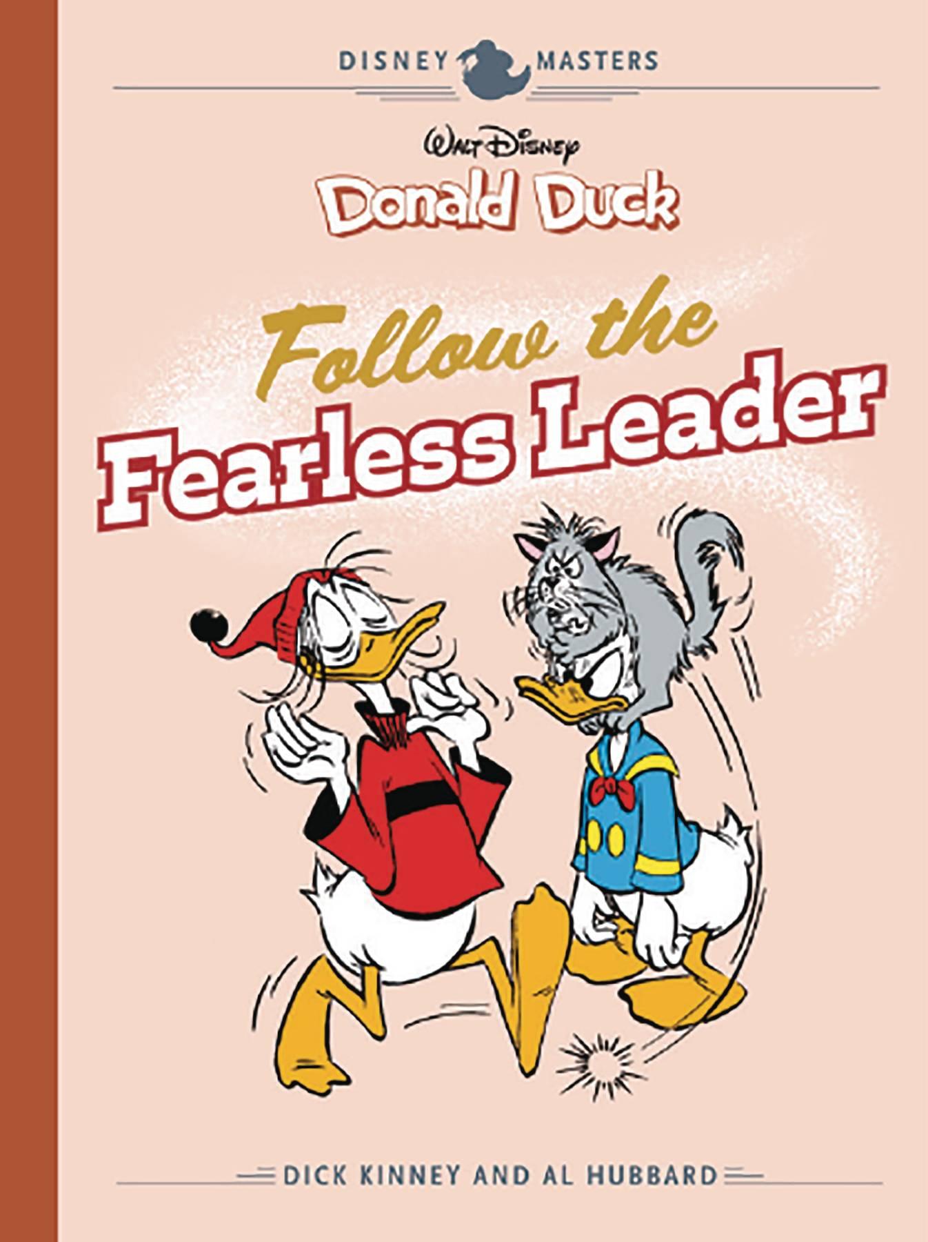 DISNEY MASTERS HC 14 KINNEY HUBBARD DUCK FEARLESS LEADER