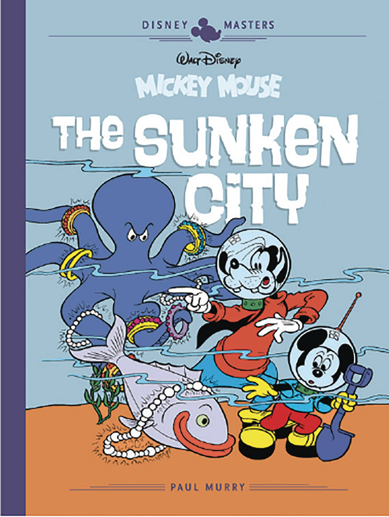 DISNEY MASTERS HC 13 MURRY FALLBERG MOUSE SUNKEN CITY