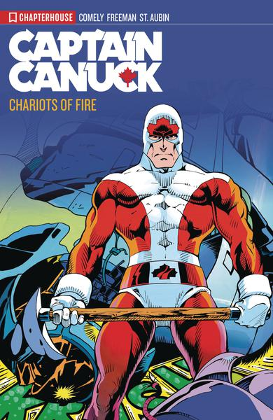 CAPTAIN CANUCK ARCHIVES TP 02 CHARIOTS OF FIRE