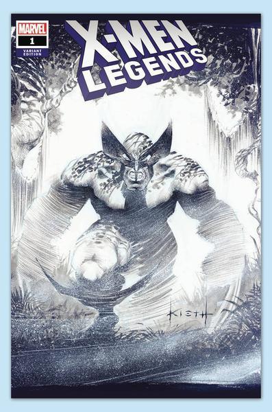 X-MEN LEGENDS #1 KEITH VAR