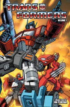 TRANSFORMERS ONGOING TP 01 FOR ALL MANKIND