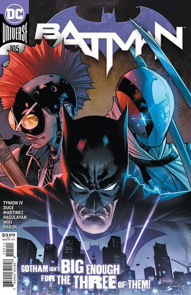DF BATMAN #106 TYNION SGN PLUS 1