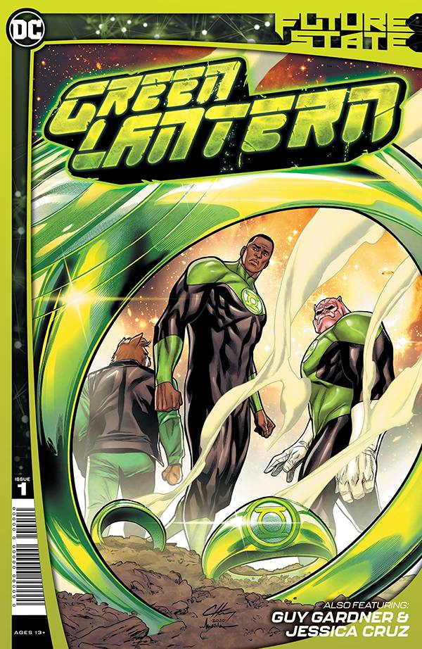 DF FUTURE STATE GREEN LANTERN #1 RANEY SGN
