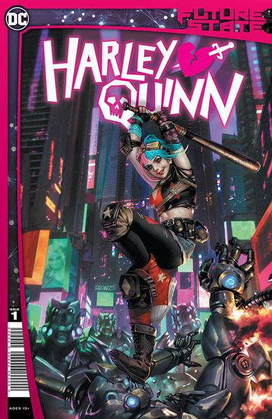 DF HARLEY QUINN #1 PHILIPS SGN