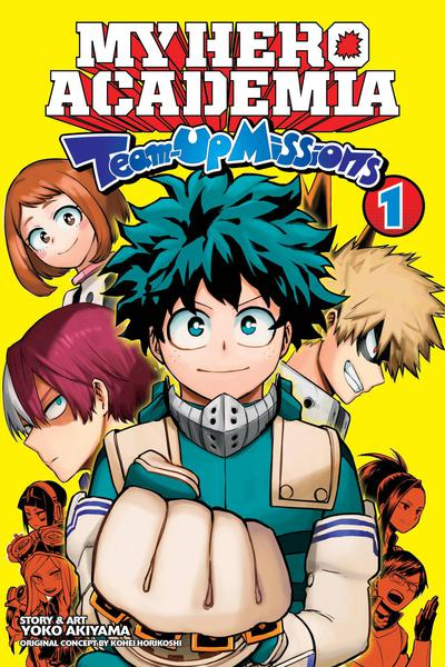 MY HERO ACADEMIA TEAM-UP MISSIONS GN 01