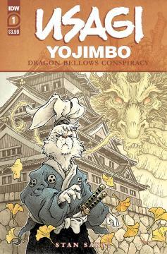 USAGI YOJIMBO DRAGON BELLOW CONSPIRACY