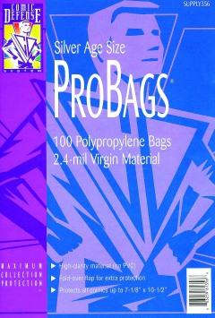 COMIC BAGS SILVER AGE CDS Polypropylene