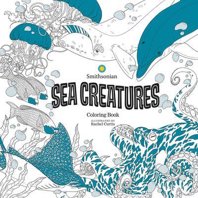 SEA CREATURES SMITHSONIAN COLORING BOOK