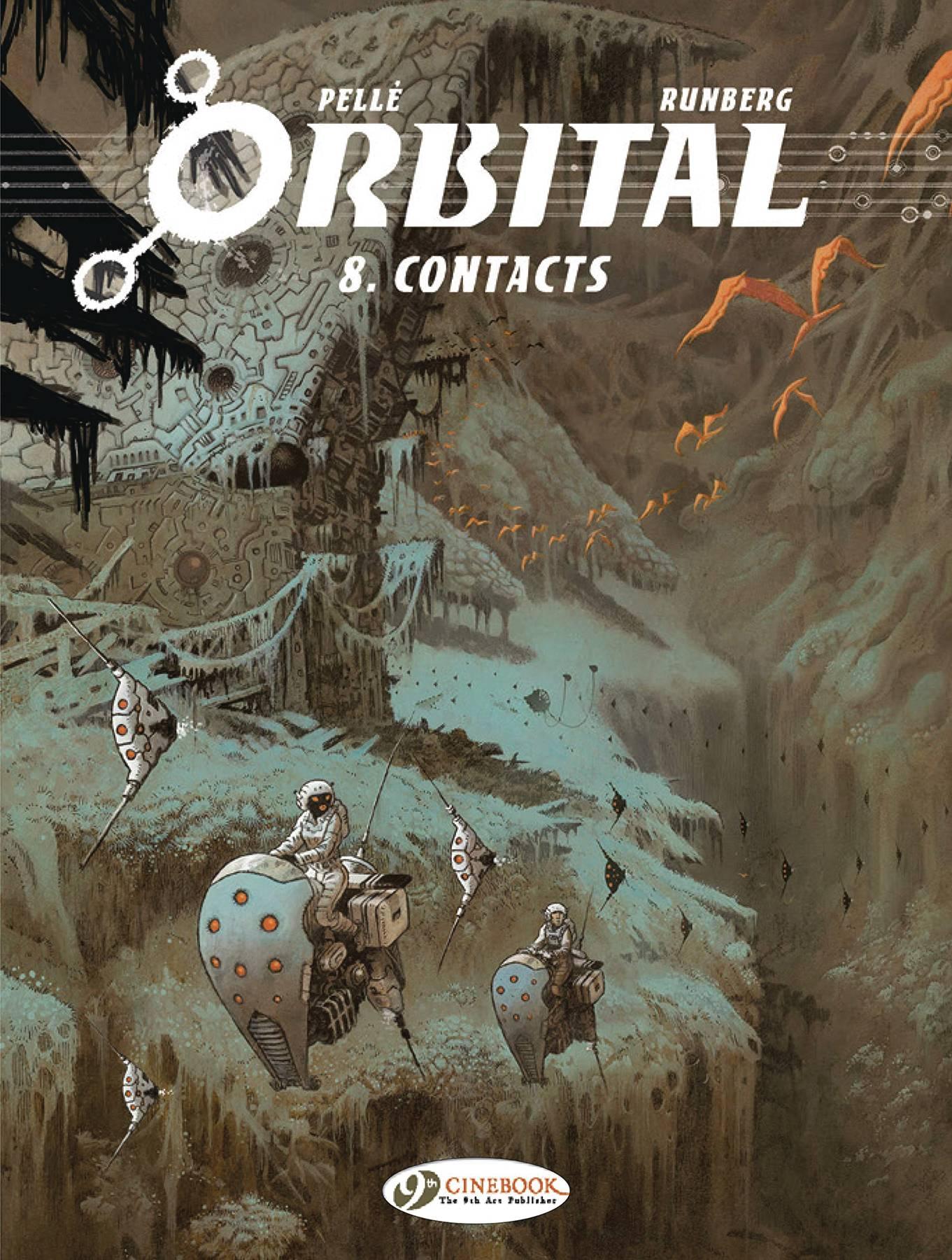 ORBITAL TP 08 CONTACTS