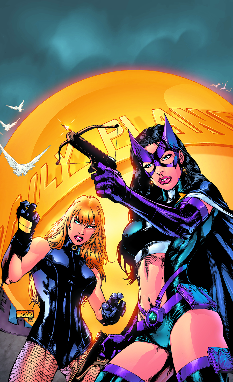 BIRDS OF PREY TP HERO HUNTERS