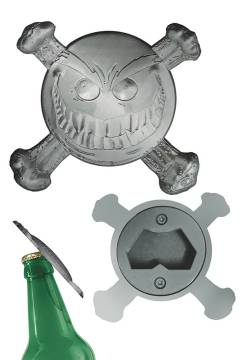 SMILEY PSYCHOTIC BUTTON BOTTLE OPENER