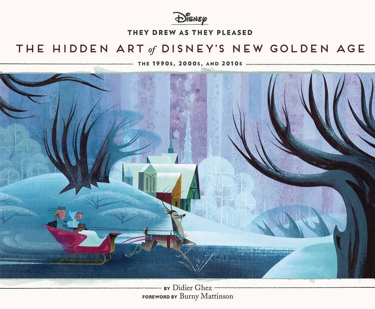 THEY DREW AS THEY PLEASED HC 06 DISNEY`S NEW GOLDEN AGE