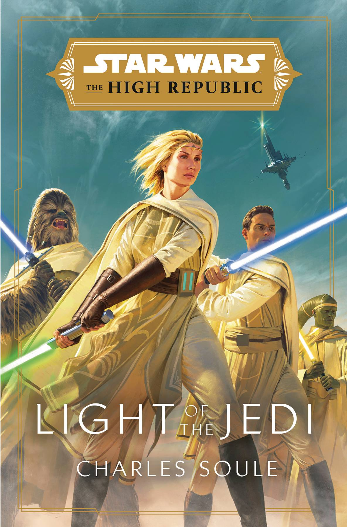 STAR WARS HIGH REPUBLIC HC NOVEL LIGHT OF JEDI