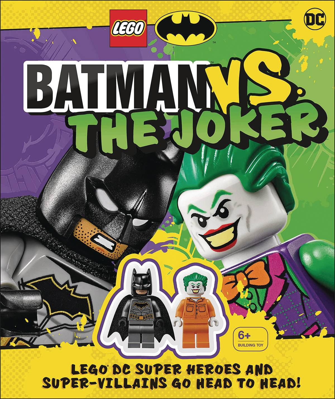 LEGO BATMAN VS JOKER W MINI FIGURE