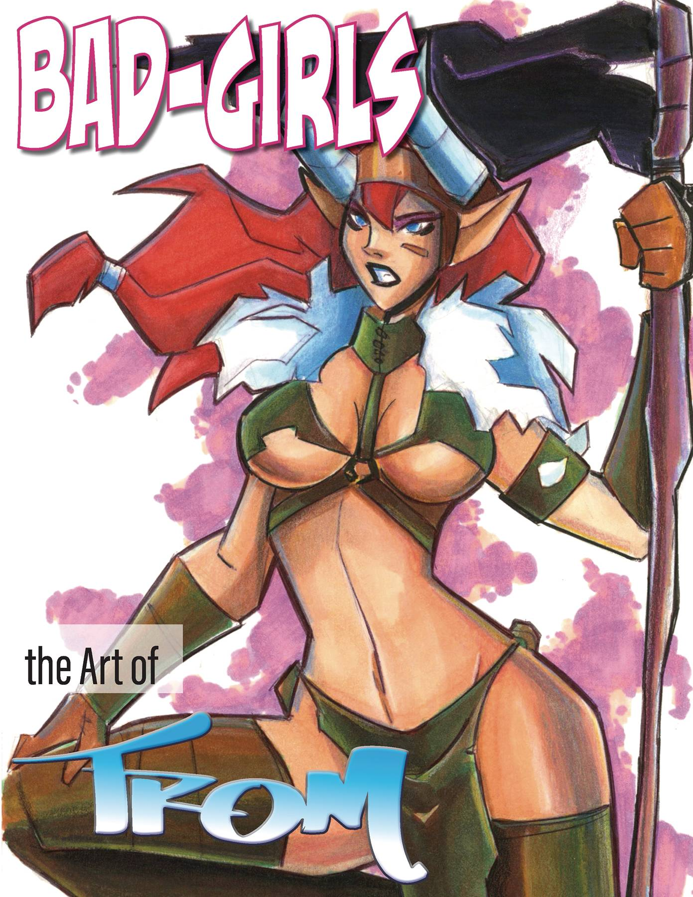 BAD GIRLS ART OF MARCELO TROM HC