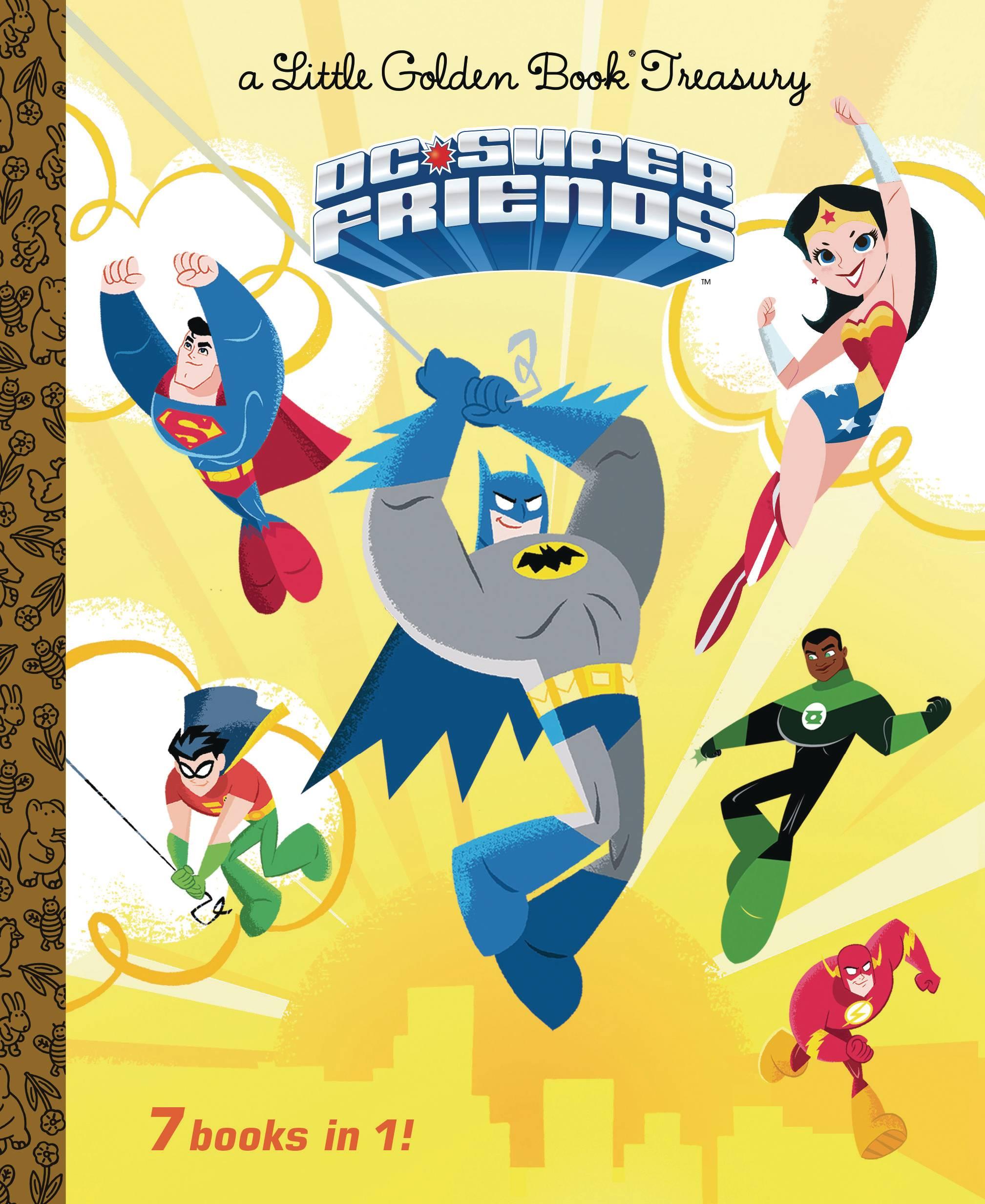 DC SUPER FRIENDS LITTLE GOLDEN BOOK TREASURY