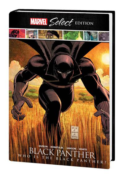 BLACK PANTHER WHO IS BLACK PANTHER MARVEL SELECT HC