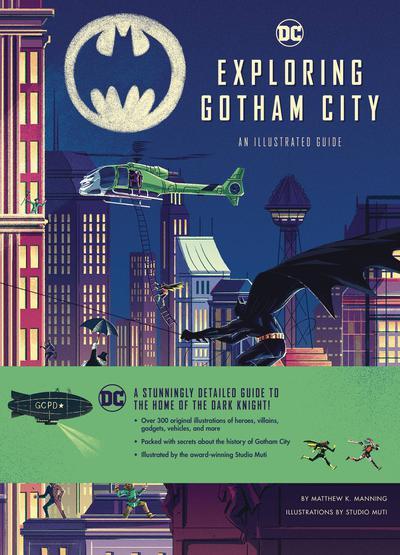 DC COMICS EXPLORING GOTHAM CITY HC