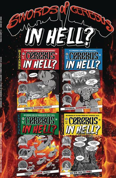 SWORDS OF CEREBUS IN HELL TP 01