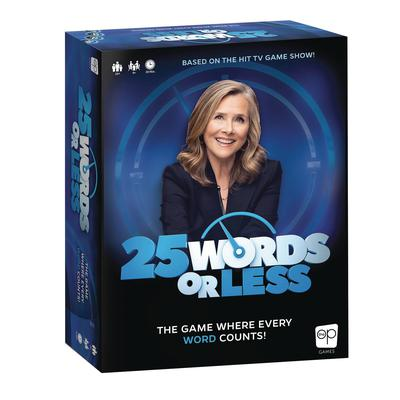25 WORDS OR LESS BOARD GAME