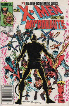 X-MEN AND THE MICRONAUTS (1-4)