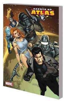 AGENTS OF ATLAS COMPLETE COLLECTION TP 01