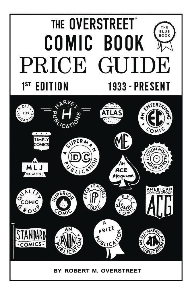 OVERSTREET COMIC BOOK PRICE GUIDE #1 FACSIMILE ED SC