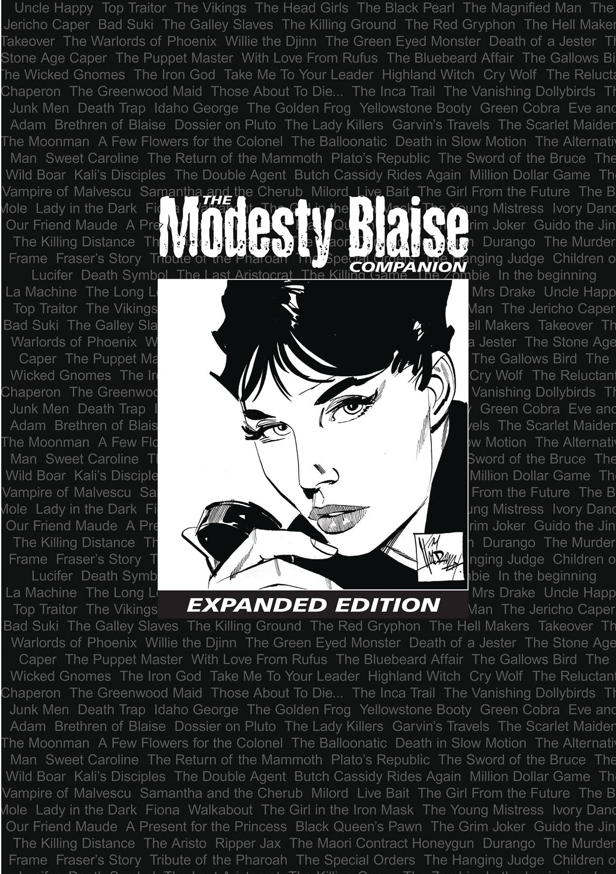 MODESTY BLAISE COMPANION EXPANDED EDITION TP