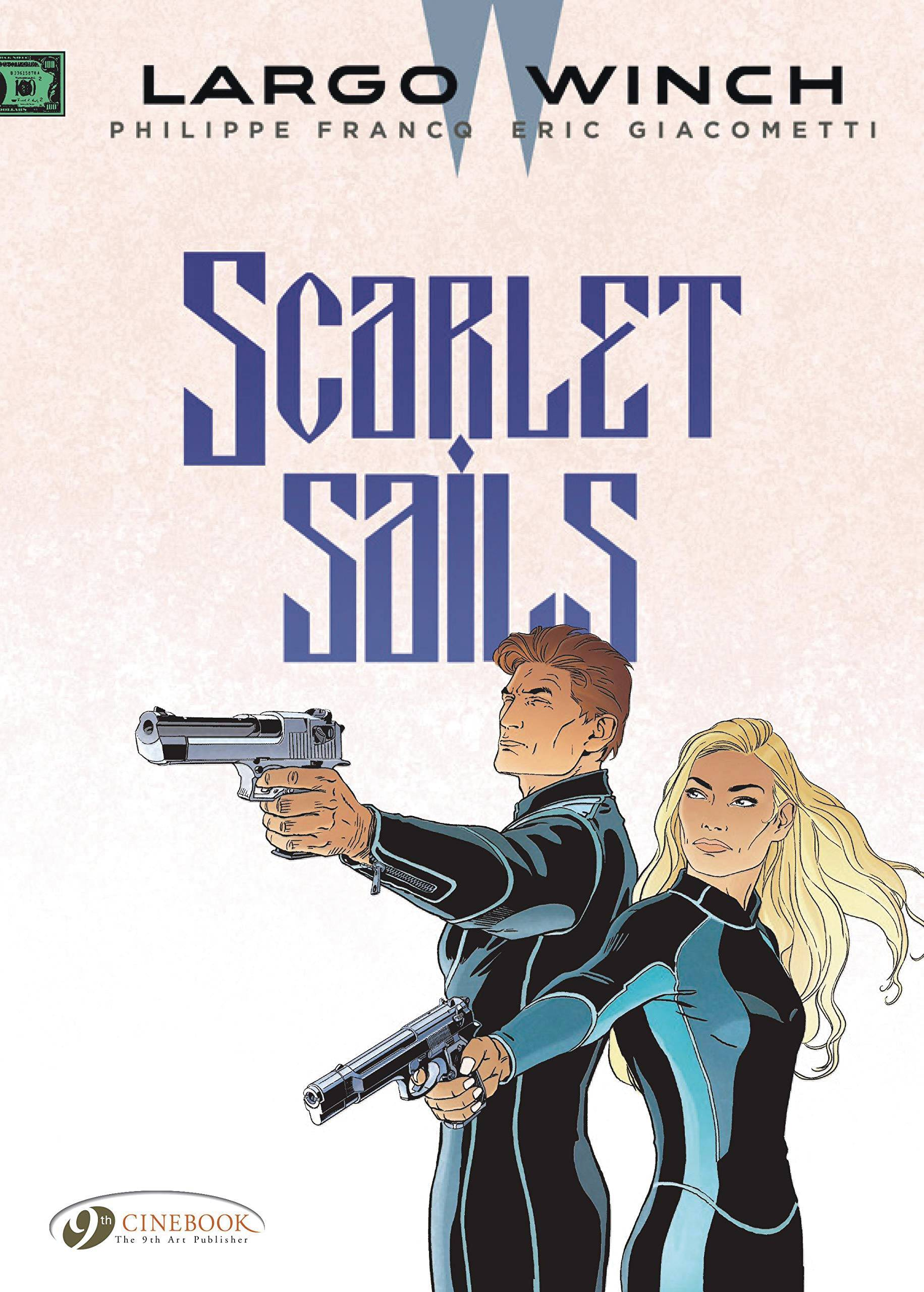 LARGO WINCH GN 18 SCARLET SAILS