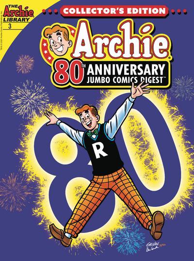 ARCHIE 80TH ANNIVERSARY JUMBO COMICS DIGEST