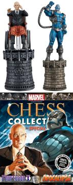 MARVEL CHESS FIG COLL MAG SPECIAL PROFESSOR X & APOCALYPSE ALT KI