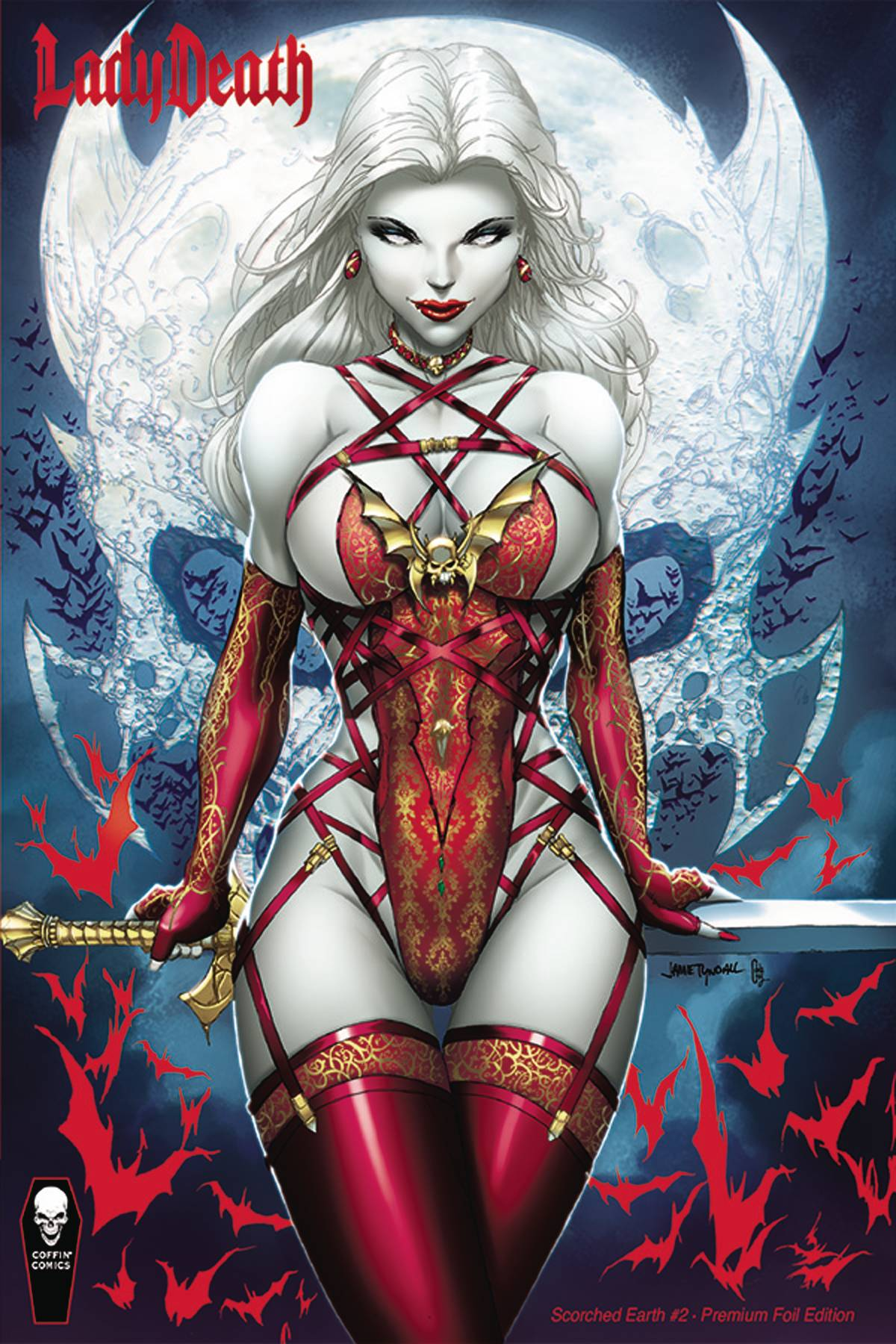 LADY DEATH SCORCHED EARTH PREMIUM FOIL ED