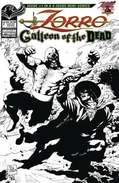 ZORRO GALLEON OF DEAD CVR C CENTURY LTD ED
