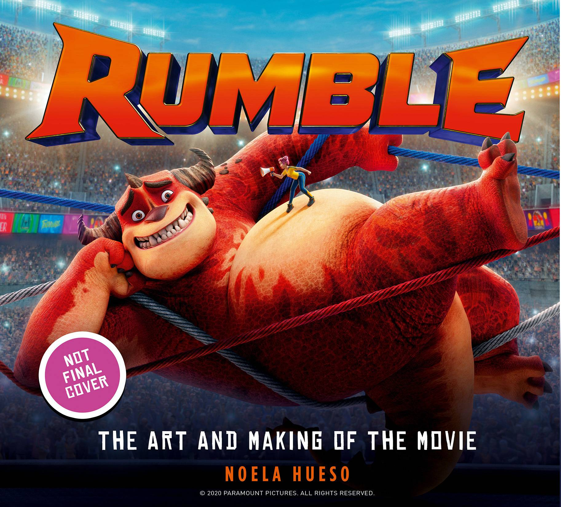 RUMBLE ART AND MAKING OF MOVIE TP