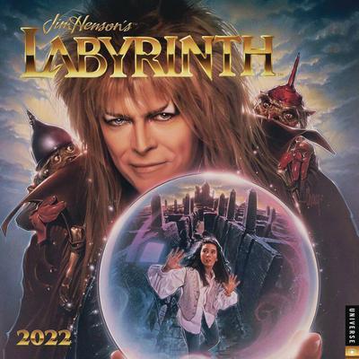 JIM HENSONS LABYRINTH 2022 WALL CALENDAR