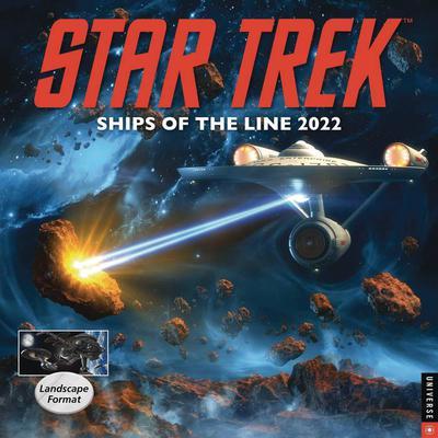 STAR TREK SHIPS OF LINE 2022 WALL CALENDAR
