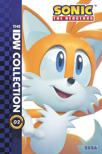 SONIC THE HEDGEHOG IDW COLLECTION HC 02
