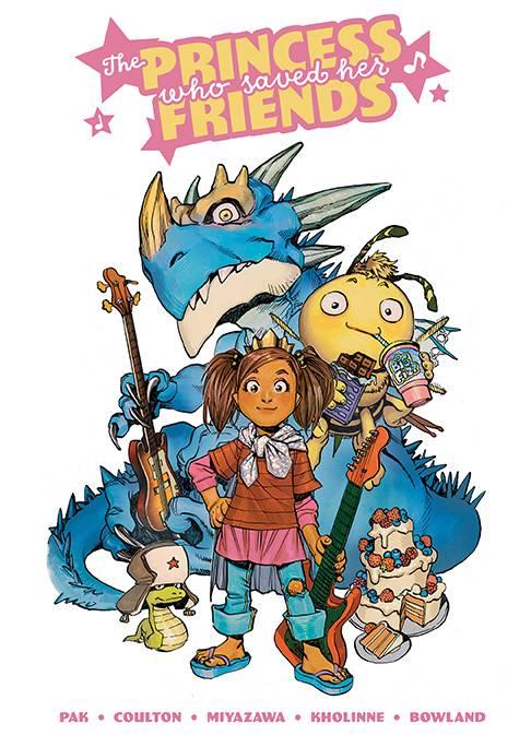 PRINCESS WHO SAVED HER FRIENDS HC 01