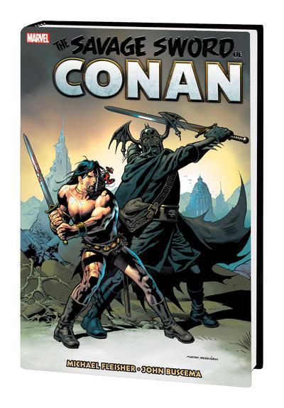SAVAGE SWORD OF CONAN MARVEL YEARS OMNIBUS HC 07